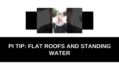 PI TIP: Commercial roofs and standing water